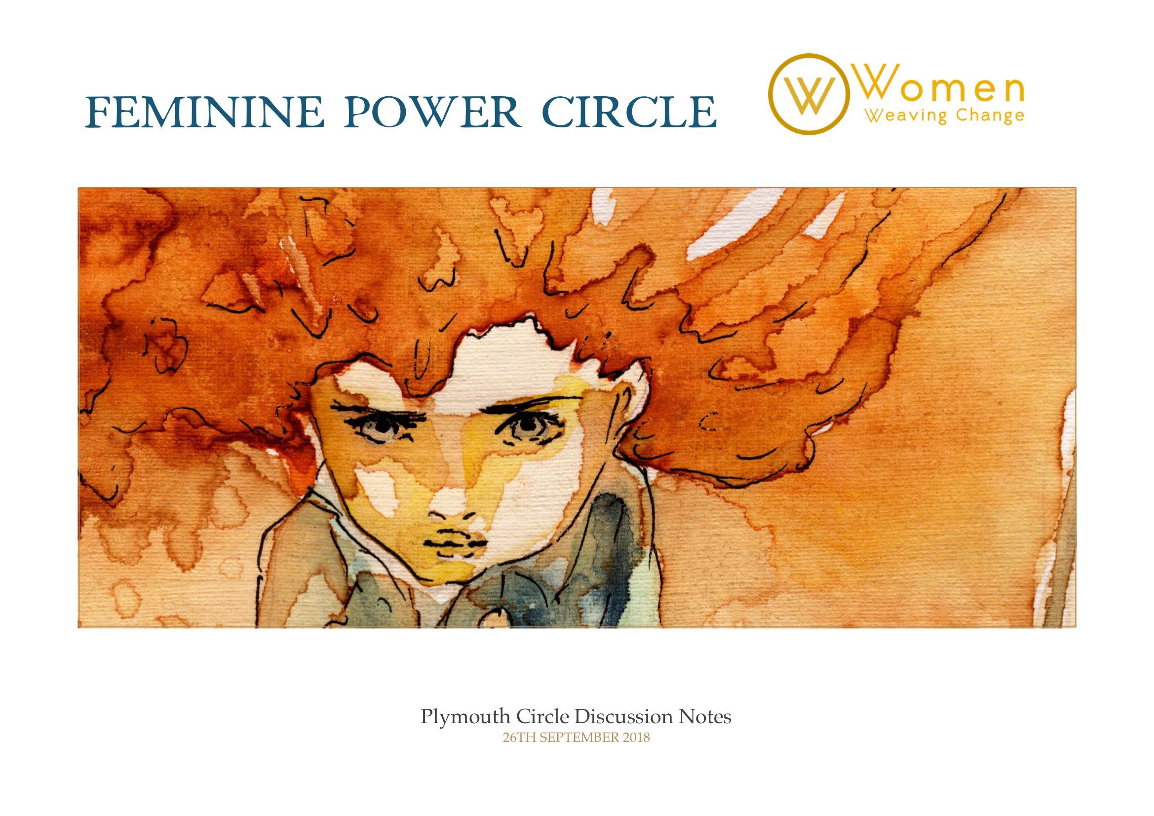 women plymouth circle feminine power